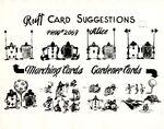 Model sheet 1149-8014 ruff card suggestions blog