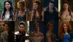 Once Upon a Time Disney Princesses