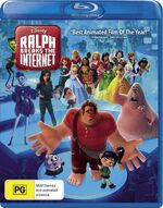 Ralph Breaks the Internet AU Blu-ray