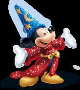 Sorcerer Mickey sparkling