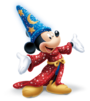 Sorcerer Mickey sparkling