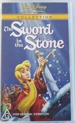 The Sword in the Stone 2002 AUS VHS