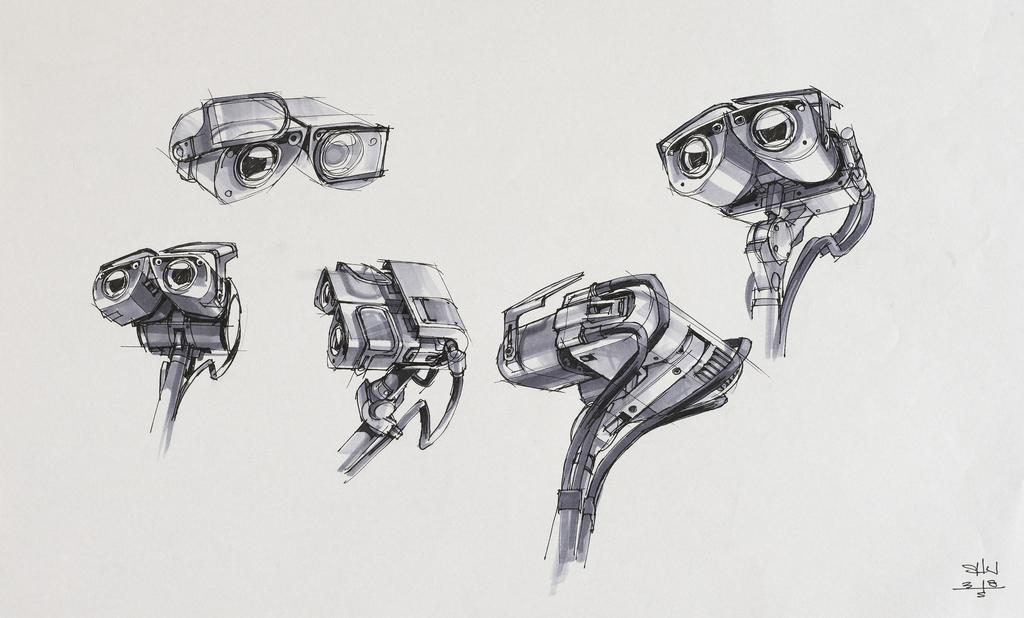 Image - WALL-E concept drawing 2.jpeg   Disney Wiki   FANDOM powered ...