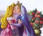 Aurora and Queen Leah