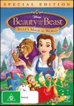 Beauty and the Beast Belle's Magical World 2011 AUS DVD