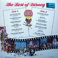 Best of Disney Vol 1 back