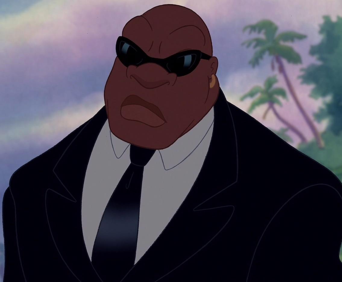 black bald cartoon character cobra bubbles | disney wiki | fandom