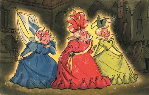 Disney Sleeping Beauty Art