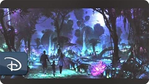 Construction Begins for Pandora – The World of Avatar