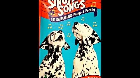 Digitized opening to SingAlong Songs 101 Dalmatians Pongo & Perdita (UK VHS)