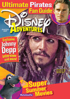 Disney Adventures Magazine cover June July 2007 Johnny Depp Pirates of the Caribbean