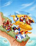 Ducktales NES - Cover Artwork