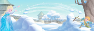 Frozen The Christmas Party Book Illustraition 3