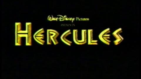 Hercules - 1997 Theatrical Trailer 1