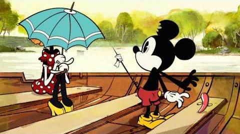 Mickey Mouse Worsteling Disney NL