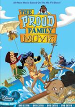 Proud Family Movie DVD