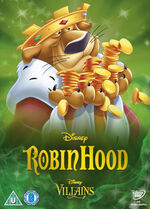 Robin Hood Disney Villains 2014 UK DVD