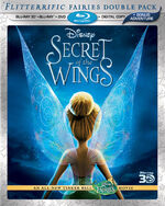 Secret of the Wings Blu-ray 3D