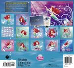 The Little Mermaid 25th Anniversary 2014 Calendar 2