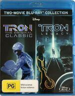Tron + Tron Legacy 2012 AUS Blu Ray