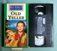 Walt Disney Studio Film Collection - Old Yeller - Front and Tape