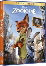 Zootopia DVD France