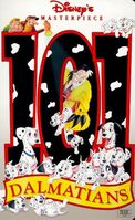 101Dalmatians MasterpieceCollection VHS