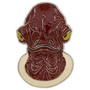 Admiral Ackbar Pin - Star Wars
