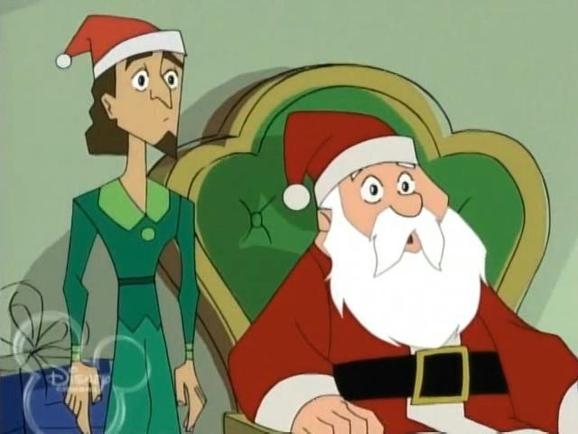 Image - American-dragon-jake-long-hairy-christmas-13.jpg   Disney ...
