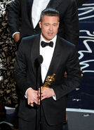 Brad Pitt 86th Oscars