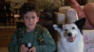 Fred Savage with Max in The Boy Who Could Fly