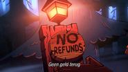 GF S2A6 geen geld terug