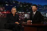 George Clooney visits Jimmy Kimmel