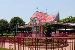 Hong Kong Disneyland Railroad Fantasyland Station