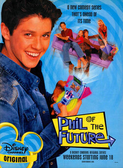 Phil of the Future print ad Nick Mag June July 2004