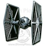Star Wars Weekends 2007 - Jumbo Pins Boxed Set (TIE Fighter)