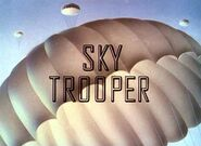 Title Card Donald Duck cartoon SkyTrooper