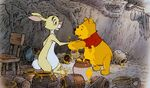 Winnie the Pooh I must be going now Good bye Rabbit