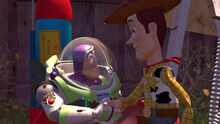 Woody Buzz Handshake