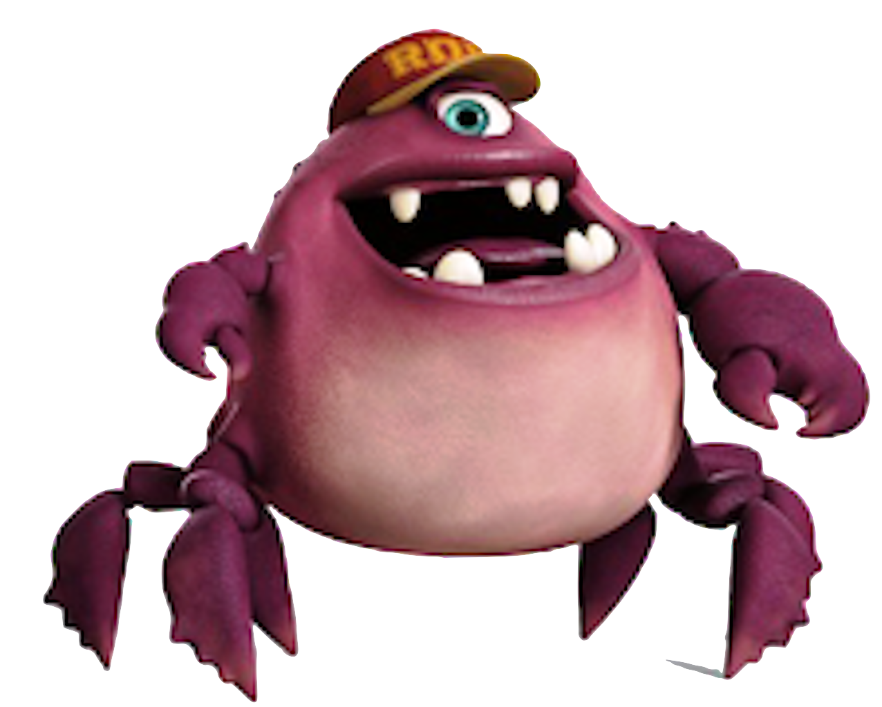 monsters inc crab