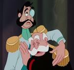 Duque y Rey llorando