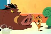 House Of Mouse - Timon And Pumbaa Snort