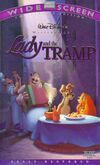Lady & tramp ws vhs
