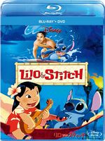 Lilo & Stitch Blu-Ray Japanese