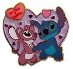 Romantic series - Stitch cherishes Angel