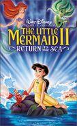 The Little Mermaid II 2000 VHS