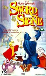 The Sword In The Stone (1988 UK VHS)