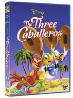 The Three Caballeros UK DVD 2014