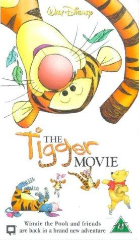 The Tigger Movie UK VHS