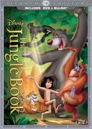 The jungle book blu ray dvd cover